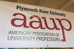 PSU-AAUP Banner